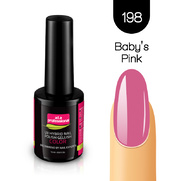 Lakier Hybrydowy UV&LED COLOR a.t.a professional nr 198 15 ml - BABY`S PINK