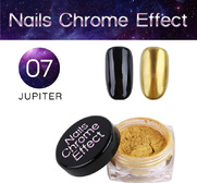 Nails Chrome Effect 07 JUPITER