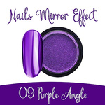 Nails Mirror Effect 09 Purple Angle 3g