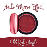 Nails Mirror Effect 03 Red Angle 3g