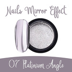 Nails Mirror Effect 07 Platinium Angle 3g