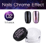 Nails Chrome Effect 02 TITANIA