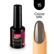 Lakier Hybrydowy UV&LED COLOR a.t.a professional nr 15 15 ml - COCOA MILK