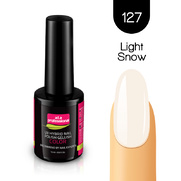 Lakier hybrydowy UV&LED COLOR a.t.a professional nr 127 15 ml - LIGHT SNOW