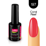 Lakier Hybrydowy UV&LED COLOR a.t.a professional nr 197 15 ml - CORAL REEF