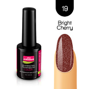 Lakier Hybrydowy UV&LED COLOR a.t.a professional nr 19 15 ml - BRIGHT CHERRY