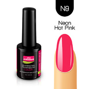 Lakier Hybrydowy UV&LED COLOR a.t.a professional nr N9 15 ml - NEON HOT PINK