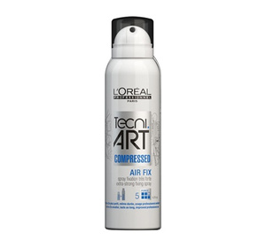 Loreal Tecni Art Air Fix Compressed Skompresowany spray do włosów 125 ml