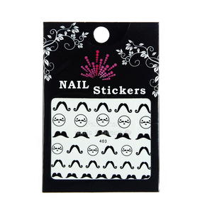 Nail Stickers Whiskers no. 403