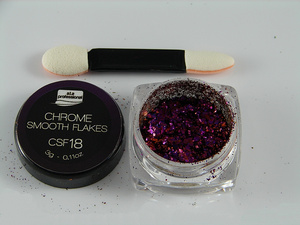 Chameleon Chrome Smooth Flakes CSF18