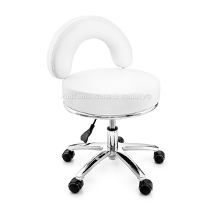 Taboret obrotowy MARK Pedicure - WHITE