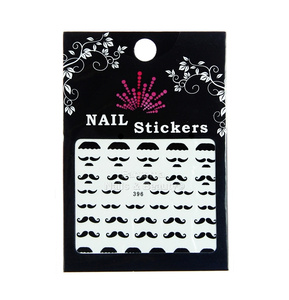 Nail Stickers Whiskers no. 396