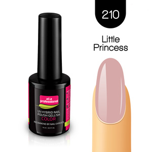 Lakier Hybrydowy UV&LED COLOR a.t.a professional nr 210 15 ml LITTLE PRINCESS