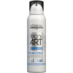 Loreal Tecni Art Fix Anti-Frizz Compressed Skompresowany spray do włosów 125 ml