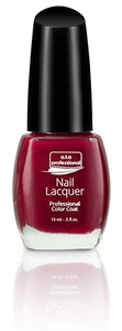Nail Lacquer a.t.a Professional Color Coat 15ML - Red Manicure Serie NR 640