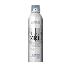 LOREAL TECNI ART FIX ANTI-FRIZZ SPRAY MOCNO UTRWALAJĄCY 400ML