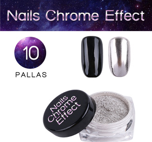 Nails Chrome Effect 10 PALLAS