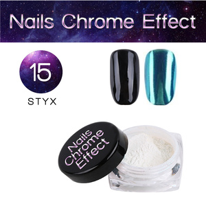 Nails Chrome Effect 15 STYX