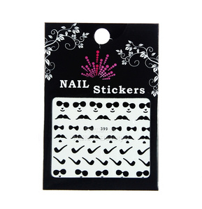 Nail Stickers Whiskers no. 399