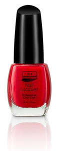 Nail Lacquer a.t.a Professional Color Coat 15ML - Red Manicure Serie NR 638