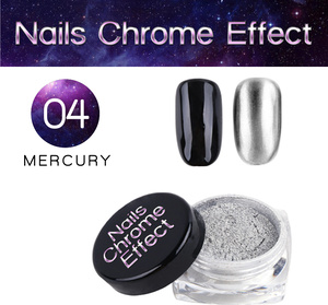 Nails Chrome Effect 04 MERCURY