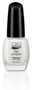 Nail Lacquer - a.t.a Professional Color Coat 15ML White French NR. 611