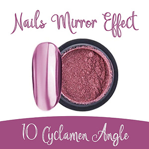 Nails Mirror Effect 10  Cyclamen Angle 3g