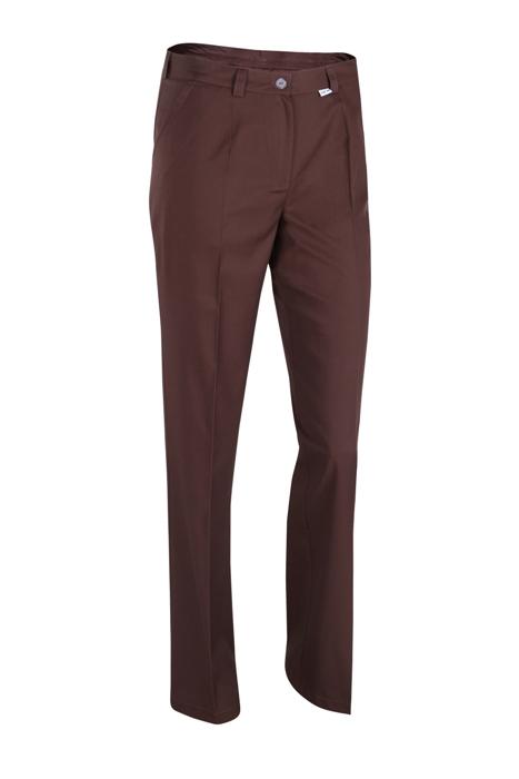 5e61fbc2 Spodnie Kosmetyczne Brązowe